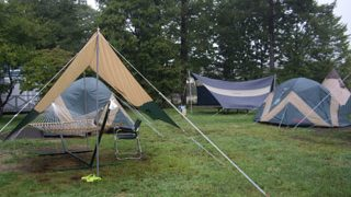 キャンプ道具に拘る男のヘキサタープ