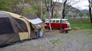 テント内の居住空間を快適にするエアマット