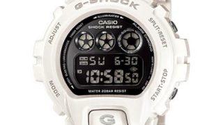 白黒ツートンG-SHOCK メリハリのあるコンプリメンタリカラーのカシオのパンダ腕時計