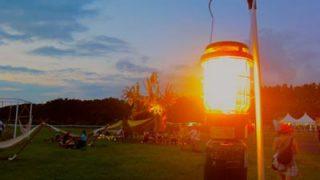 【ガスランタン】キャンプサイトを煌々と照らすキャンプ夜のお楽しみアイテム