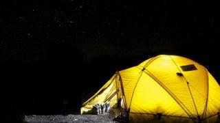 テント内の室内灯として使えるLEDランタン